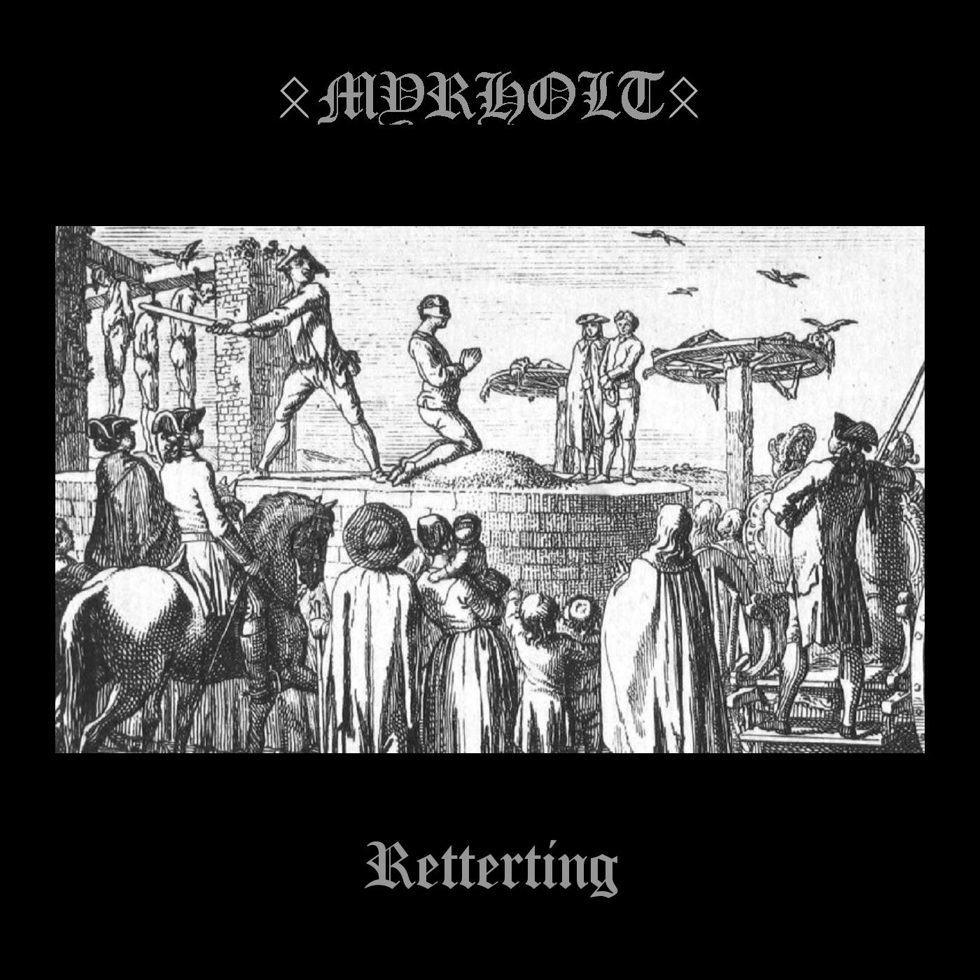 OccultBlackMetalZine: Myrholt/Retterting/Screaming Skull Records/Darker  than Black Records/2020 EP Review